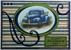 Craftychick Cards: Happy Father's Day!