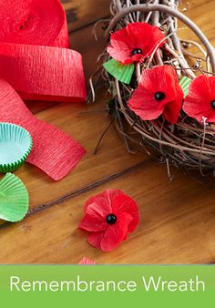 Craft a poppy wreath this Veteran's Day: http://www.pgeveryday.com/home-garden/crafts/article/diy-remembrance-wreath