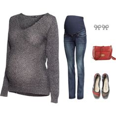 """""""Comfy Sweater & Jeans"""" by angiejane on Polyvore"""