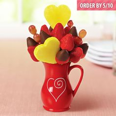 Edible Arrangements® fruit baskets - Lovely Berry Chocolate Daisy™ MOTHERS DAY GIFT $49