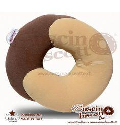 Cuscino Biscotto - Dolce Contatto (Fatto a mano in Italia)