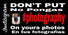No pongas #photography en tus fotos de Instagram. Los Hashtags Prohibidos #instagram