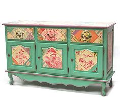 Hand Painted Furniture - Piece of the Week -French Provincial Buffet