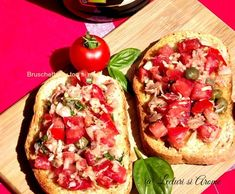 Tasty, Yummy Food, Bruschetta, Vegetable Pizza, Baked Potato, Goodies, Food And Drink, Cooking Recipes, Mexican
