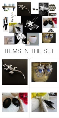 """""""Almost black and white!"""" by stavrosdragatakis ❤ liked on Polyvore featuring art and dragtakisjewellery"""