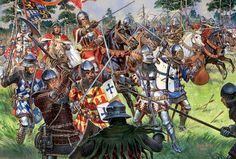 German knights in the fifteenth century.