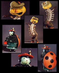 james and the giant peach characters - Google Search