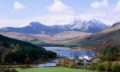 Snowdon Mountain, Snowdonia National Park, North Wales, UK.  Hike it!