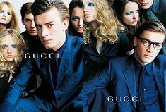 Brand: Gucci .Tom Ford.  Season: Spring/Summer 1996. Model(s): Ludovico Benazzo and others . Ph: Mario Testino .