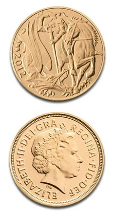 Full Sovereign, Gold, 2012