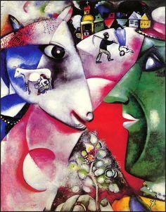 artrageousafternoon: Marc Chagall