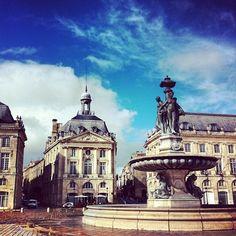 Bordeaux ~ France ~ Place de la Bourse