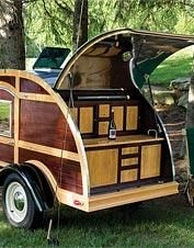 I'd camp in this (and I'm not the world's best camper). Not that I could EVER afford it.