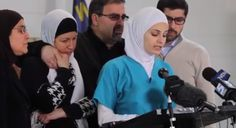 """Six weeks ago, I cried tears of joy at my baby brother's wedding,"" the sister of #ChapelHillShooting victim Deah Barakat said Wednesday. ""Today we are crying tears of unimaginable pain."" Post by ‎Shasha.ps 