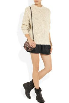 Isabel Marant- Leather shorts
