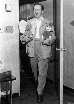 Dumbo, Walt & Timothy walk into a meeting room...