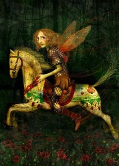 The Hapless Prince - Lisa Falzon Matte lustre print Sold by meluseena @ Etsy IRELAND, Ireland Art And Illustration, Fairy Land, Fairy Tales, Claudio Bravo, La Reverie, Magical Creatures, Horse Art, Whimsical Art, Faeries