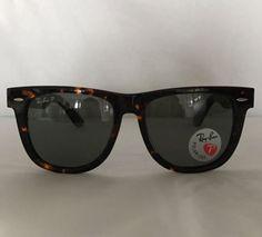 bc6ecc3aa80 RAY BAN RB2140 902 58 54 18-3P Polarized Tortoise Wayfarer Sunglasses  Polarised