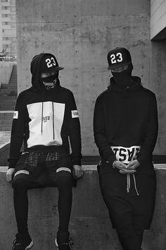 Urban ninja. Mens fashion street wear. Please choose… #MensFashionStreetwear
