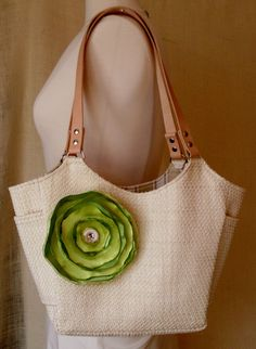 2013 Columbus Spring Avant-Garde Art & Craft Show Vendor: Jody Byrd Design- Parisian Spring Tote