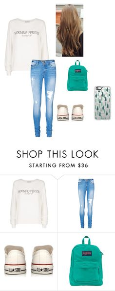 """#155"" by nana-st on Polyvore featuring moda, Wildfox, Vero Moda, Converse, JanSport, Casetify, women's clothing, women's fashion, women e female"