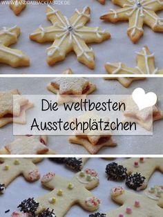 DIE weltbesten Ausstechplätzchen. Weitere köstliche Plätzchen: http://www.gofeminin.de/kochen-backen/plaetzchenrezepte-weihnachten-d9181.html