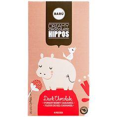 Buy BARU Dark Chocolate and Caramel Hippos http://www.baru.be/en/hippos/chocolate-category-united-kingdom.htm?or=2968145003&cu=euro