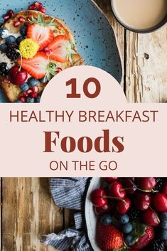 Super healthy breakfast on the go foods, recipes, tips and more! Healthy Breakfast On The Go, Best Breakfast Recipes, Breakfast For Kids, Healthy Options, Healthy Tips, Healthy Eating, Healthy Meals, Vegetarian Brunch, Meal Prep For Beginners
