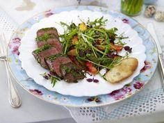 Lamm-Rezepte - Lammfleisch in Lieblingsvarianten - lammlachs-kraeutermantel