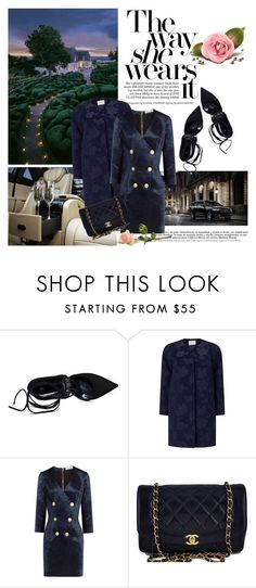 """""""Night Drive"""" by beograd-love ❤ liked on Polyvore featuring Jacques Vert, Pierre Balmain and Chanel"""