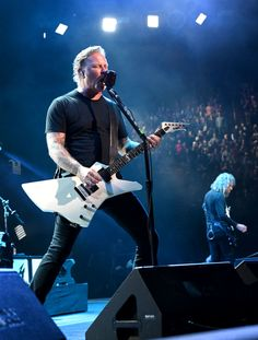 2f7595478c91 James Hetfield of Metallica perform onstage during I Am The Highway: A  Tribute To Chris Cornell at The Forum on January 2019 in Inglewood,  California.