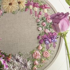 Country Bumpkin & Inspirations - beautiful embroidery & smocking: Inspirations Current Issue - Les Jardins, Inspirations 78, embroidery kit