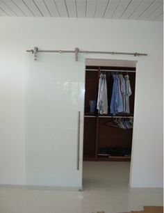 The Laguna Series Sliding Glass Door System , Ideal for Interior Room Applications , such as Dressing Rooms, Wardrobe Doors, Bathroom Entry Doors , Offices, and more.