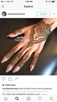 on bridal henna from yesterday ----------------------------------------------- For rates and availability contact us at: Pretty Henna Designs, Wedding Henna Designs, Henna Art Designs, Mehndi Design Photos, Bridal Mehndi Designs, Bridal Henna, Arte Mehndi, Henna Mehndi, Arabic Mehndi