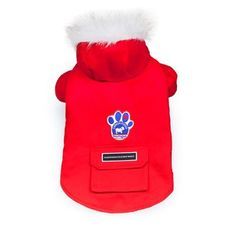 Because doggies get cold too Winter Wilderness Coat Red - 16 Chapters Indigo, Canada Goose Jackets, Wilderness, Dog Cat, Kitten, Winter Jackets, Hoodies, Pets, Coat