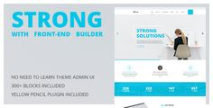 Strong is a clean and modern Business WordPress Theme. It's a solution for any company. This theme includes more than 60 carefully designed blocks, which are easy to edit and customize to fit your ...