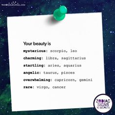 Signs And Their Beauty - https://themindsjournal.com/signs-and-their-beauty/