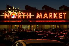 North Market--it's better than the photo i took today, haha. not as expansive as cleveland's west side market, but so, so many good things here!!
