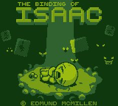 So, I made a Gameboy BoI title-screen for a spriting contest. - GIF on Imgur