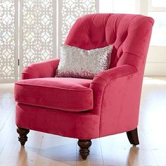 Girls Bedroom Chair - If this could go ahead and get in my house, I would be ok with that...
