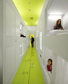 Futuristic hostel in Croatia