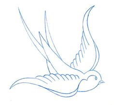 Swallow outline
