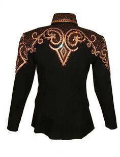 Black and Copper Showmanship Jacket