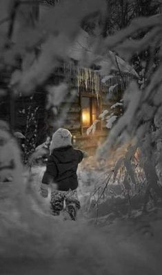 Inspriration to edify and encourage the Body of Christ. I Love Winter, Winter Night, Winter Snow, Winter Photography, Children Photography, Nature Photography, Christmas Art, Winter Christmas, Winter Scenery