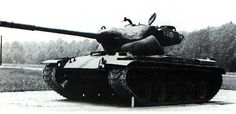 T69 - american prototype of medium tank with oscillating turret and an autoloader.