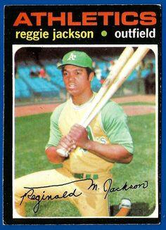 Reggie Jackson One of the greats with the worst personality of any athlete I know. Baseball Players, Baseball Cards, Baseball Pics, Pirates Baseball, Football, Mr October, Reggie Jackson, Brandon Jackson, Sports Figures
