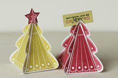 Today's a big group post at Papertrey Ink . And my new Christmas Tree Change Up Collection (stamps, card dies, box dies, and stitching dies)...