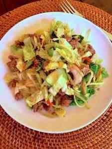 Egg Roll Stir Fry — thewarriorwife.com blog