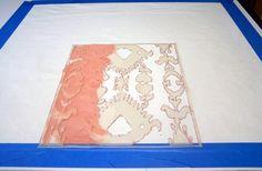 DIY Project:  Ikat print pillow---from Design Sponge  elizabeth_ikat_print