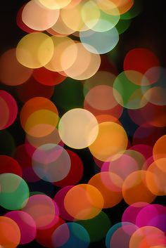 The Annual Out Of Focus Tree Light Bokeh Thing by Gamma Infinity, via Flickr